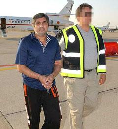 Detención en 2008 de Zakhariy Kalashov, uno de las cabezas visibles de la mafia rusa en España.