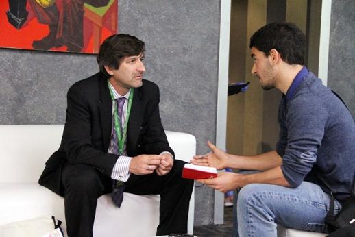 Ariel Dulitzsky y Carlos Garfella. Fotografia:  Fernando Galvez