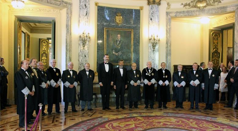 Inauguración año judicial. Fuente: Consejo General del Poder Judicial