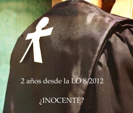 2 años LO 8/2012