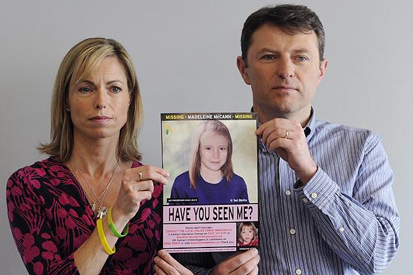 Los padres de la desaparecida Madeleine McCann condenados como mentirosos por el tribunal de la opinión pública.