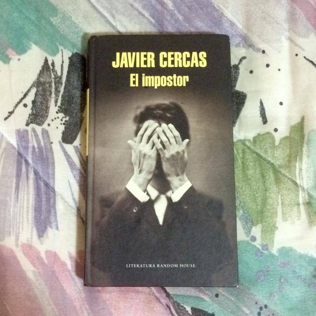 Portada de El impostor de Javier Cercas