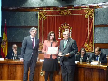 Carnicer recibe premio Calidad Justicia CGPJ