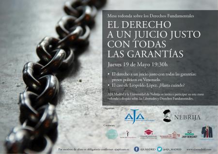 Cartel AJA Madrid Derechos Humanos
