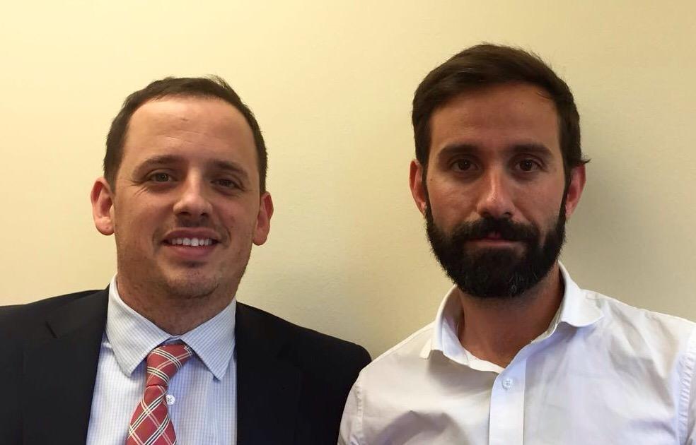 Juan Irala y Pol Olivet