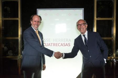 Jaime Herrera, socio fundador de PHR y Rafael Fontana, Presidente Ejecutivo de Cuatrecasas.