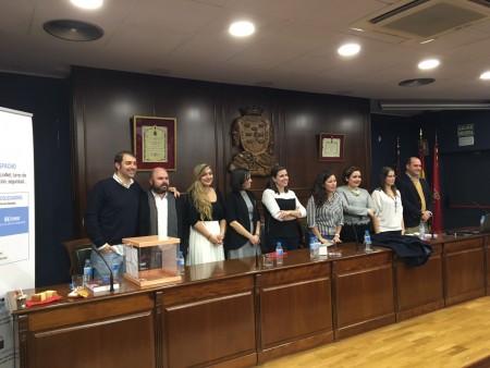 Fotografía de los miembros de la nueva Comisión Ejecutiva de CEAJ.