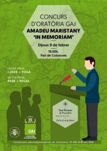 Concurs d'Oratoria Amadeu Maristany