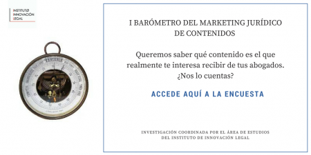 I BARÓMETRO DEL MARKETING JURÍDICO DE CONTENIDOS 2