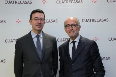 Jorge Badía, Director General y Rafael Fontana, Presidente ejecutivo de Cuatrecasas