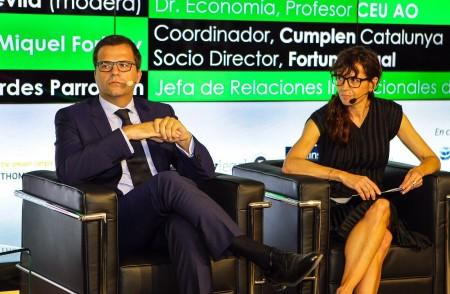 Miquel Fortuny y Lourdes Parramon
