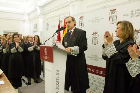 1 José María Alonso toma posesión como nuevo decano del Colegio de Abogados de Madrid2