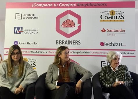 Inés Blanco, Sonia Gumpert y Paquita Sauquillo.