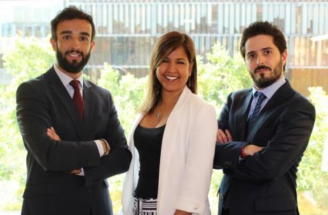 De izq. a derecha: Pau Vidal, Consultor Senior de GRC; Yazomary García, Senior Manager de Consultoría de GRC y Daniel Medrano, Consultor de GRC