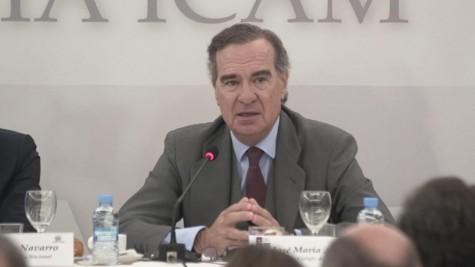 1. El decano del ICAM ha trasladado el malestar de la abogacía con el Ministerio de Justicia por la situación generada a los abogados del Turno de Oficio