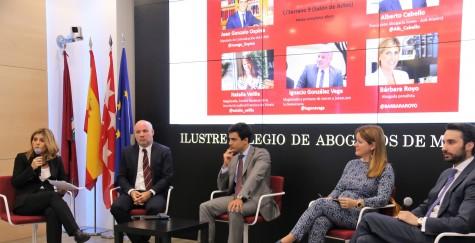 De izq. a dcha. Bárbara Royo, Ignacio González Vega, Juan Gonzalo Ospina, Natalia Velilla y Alberto Cabello__