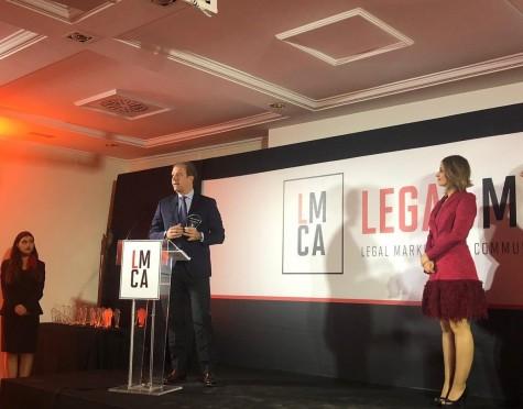 Ramón Mesonero-Romanos en los premios LEGALMARCOM