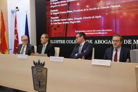 De izq. a dcha. Alberto Torres, Eugenio Ribón, Miguel Guerra, Luis Sanz (2)