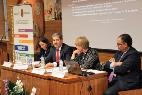 DE izq. a dcha. María Luz Puerto Mendoza, José Ramón Couso, Ana Fernández-Tresguerres y Ángel Valero Fernández-Reyes