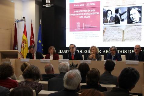 El ICAM ha presentado hoy oficialmente el repositorio del Patrimonio Documental