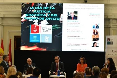 De izquierda a derecha, Eduardo de Porres, Juan pàblo González, José María Alonso, María Jesús del Barco y Mª Pilar Rodríguez