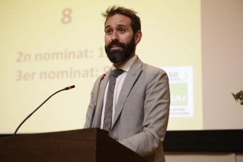 Pol Olivet, Presidente del GAJ Barcelona.