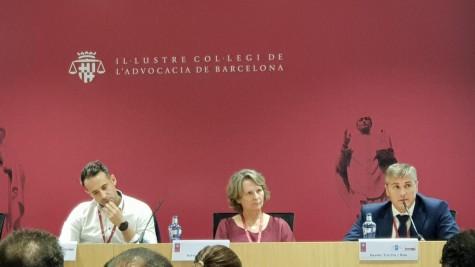 Fotografía: (De izq. a der.) Rubén Domínguez, Sylvia Enseñat y Xavier Irurita.