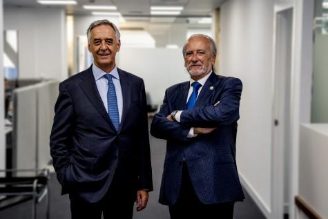 Foto incorporación Manuel Calvé - Jaime Olleros
