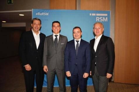 David García, Horst Hölderl, Raúl Marset y José María Gassó